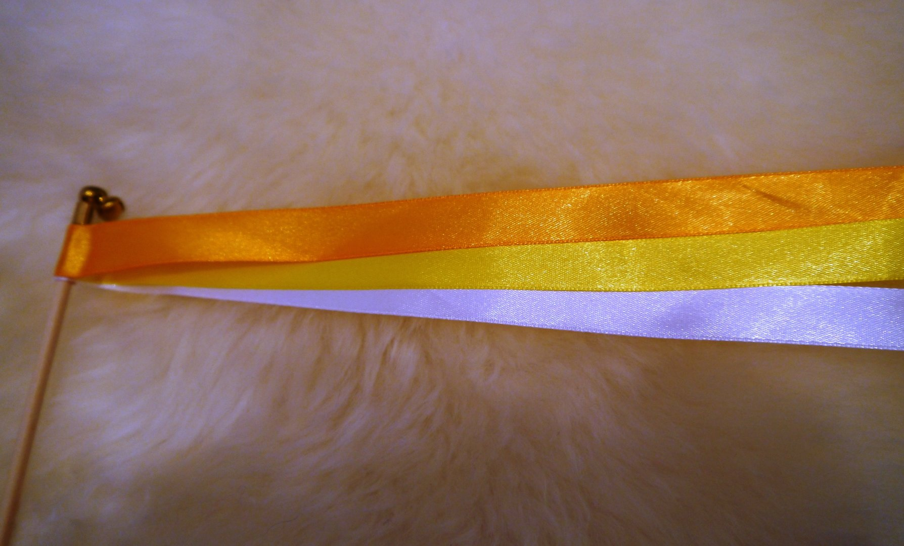 Wedding wands orange deko huemmer for Wand orange