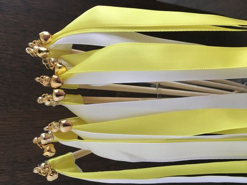 Wedding Wands Gelb